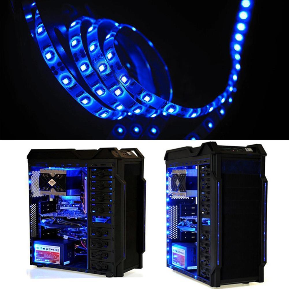 0 5 1 2 5m led 3528 smd lichtband licht strip leiste band. Black Bedroom Furniture Sets. Home Design Ideas