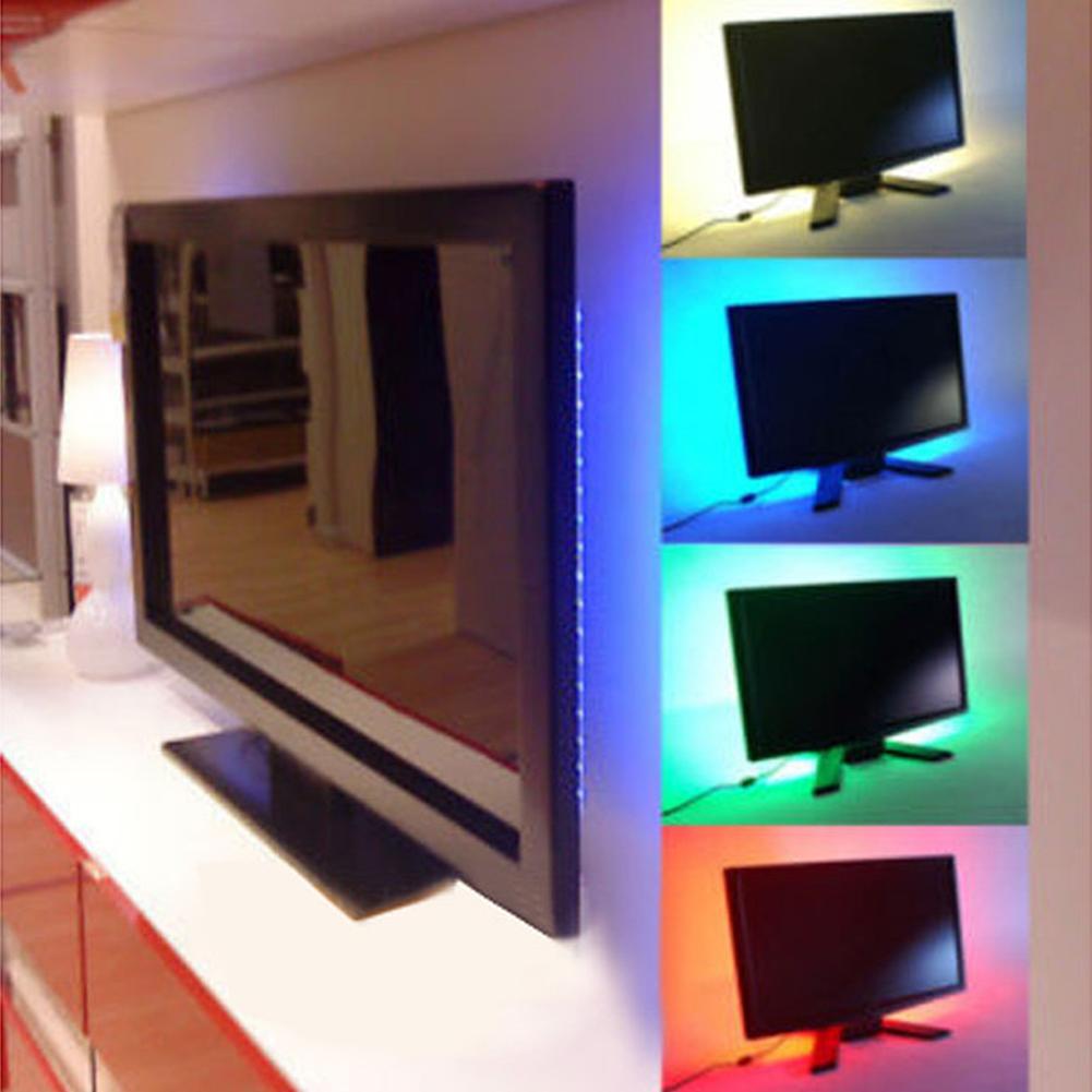 5050smd 30 led m bunt lichterkette stripe band leiste licht streifen deko usb 5v ebay. Black Bedroom Furniture Sets. Home Design Ideas