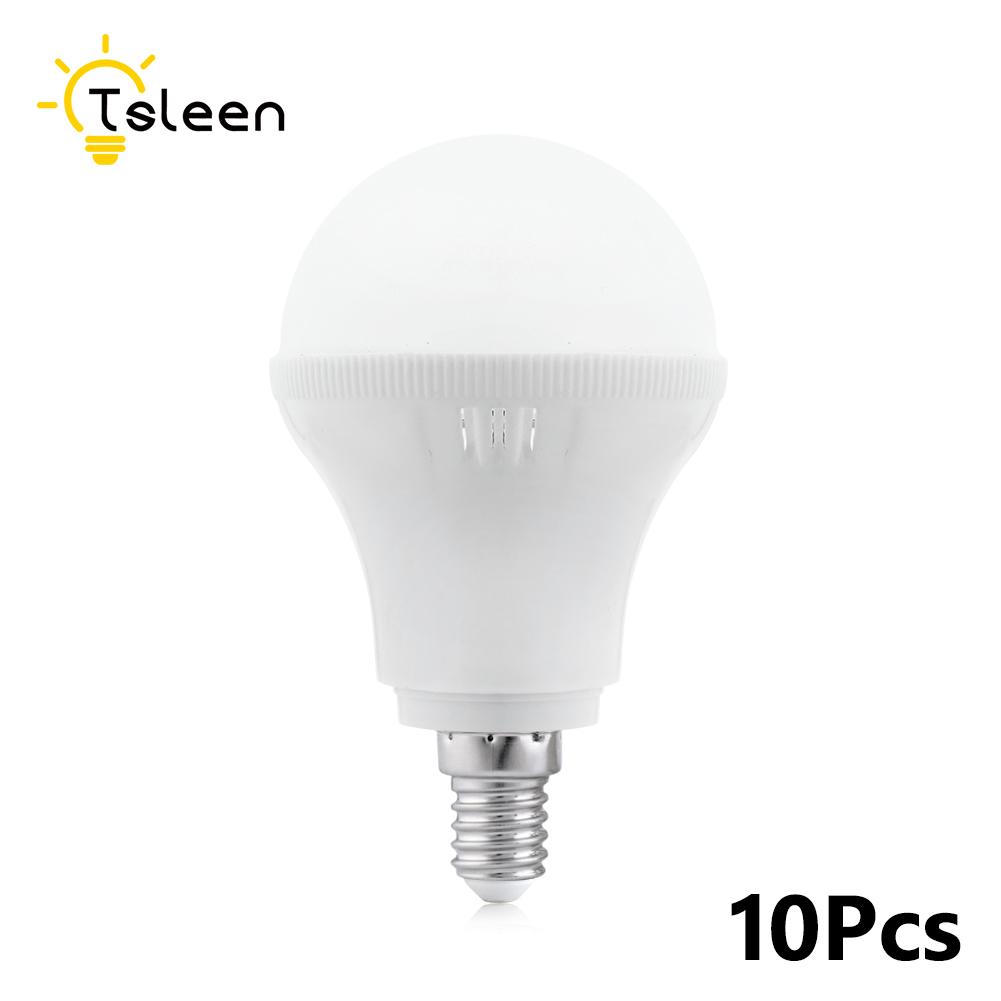 1/4/10X E14 B22 E27 LED Energy Saving Light Bulb White Lamp 3W 5W 7W 9W 12W 15W