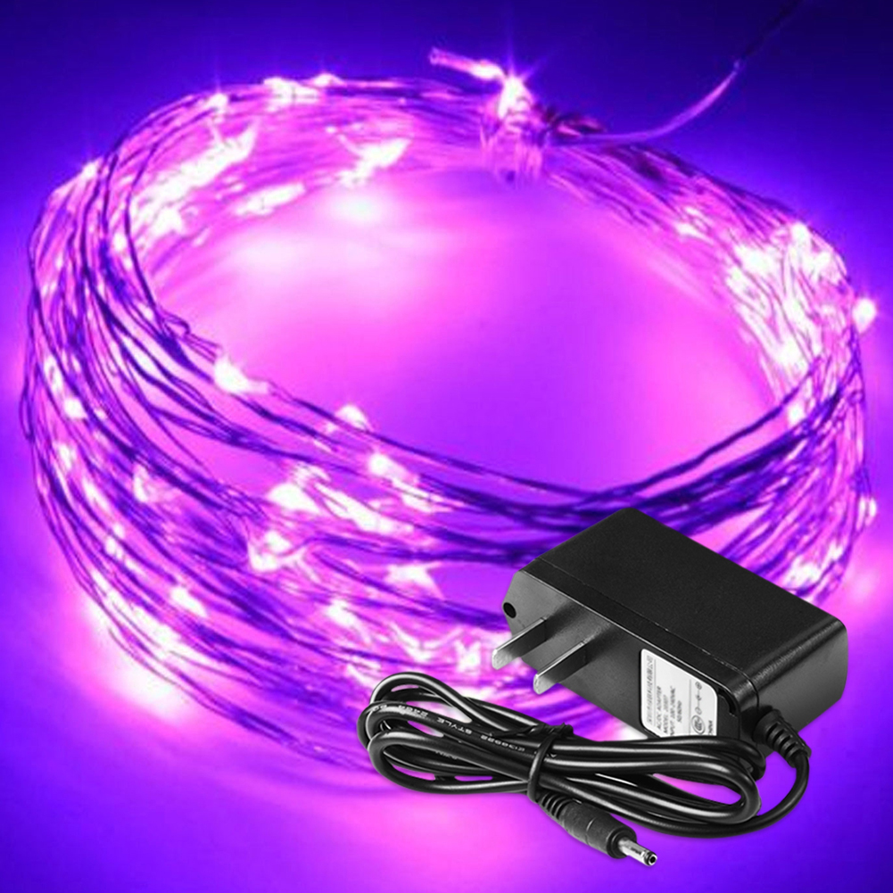 2 5 10m Led Silver Wire Fairy Starry String Lights 12v 1a Indoor Outdoor Wiring For Christmas