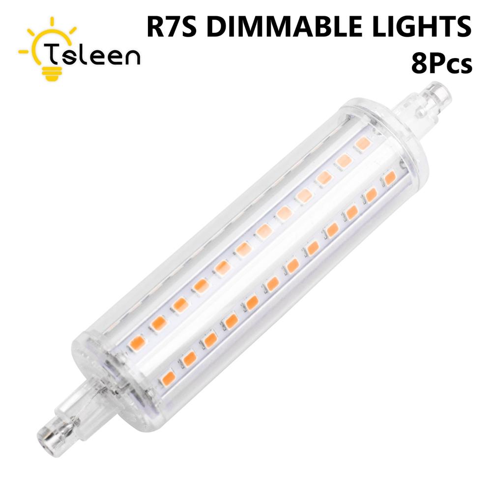 dimmbar r7s j78 j135 j189 2835 led lampen scheinwerfer. Black Bedroom Furniture Sets. Home Design Ideas