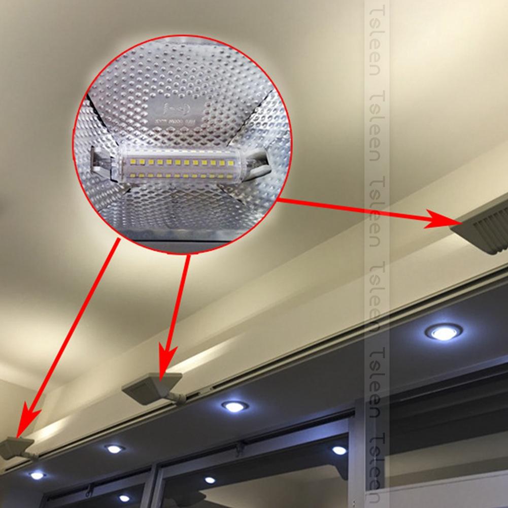 r7s led lampe 78 118 135mm leuchtendes flutlicht ersetzen basketball feld birne ebay. Black Bedroom Furniture Sets. Home Design Ideas
