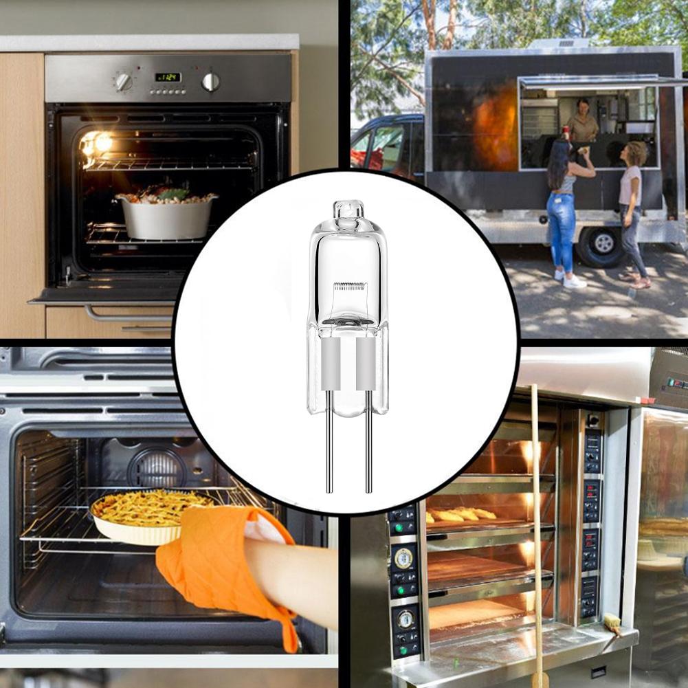 10x G4 Halogen Capsule Light Bulb High Lumens 12v Lamp Warm White 5//10//20//35//50w