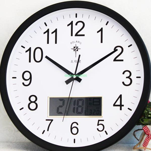Plastic Clock Movement Black Hour Minute Second Hand DIY