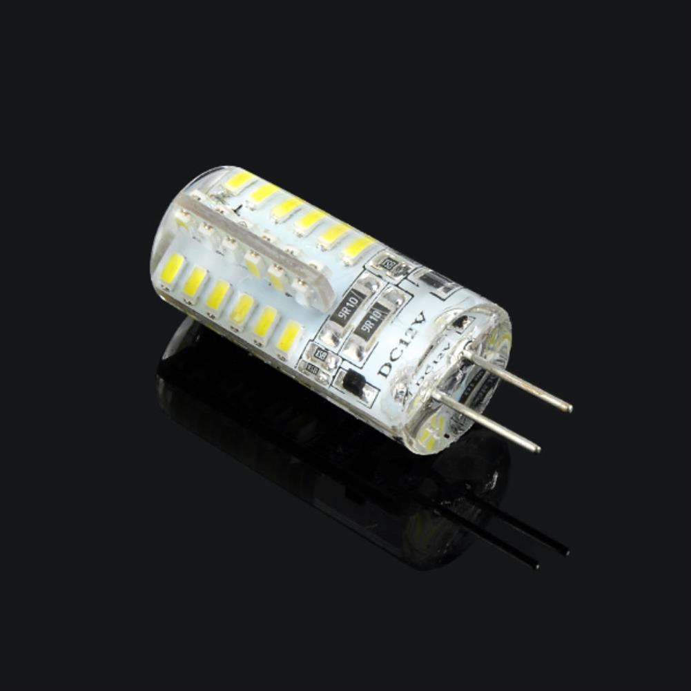 4pcs-G4-3014SMD-5W-48-LED-Crystal-Lamp-Light-Bulb-Chandelier-12V-DC-Cool-White thumbnail 4