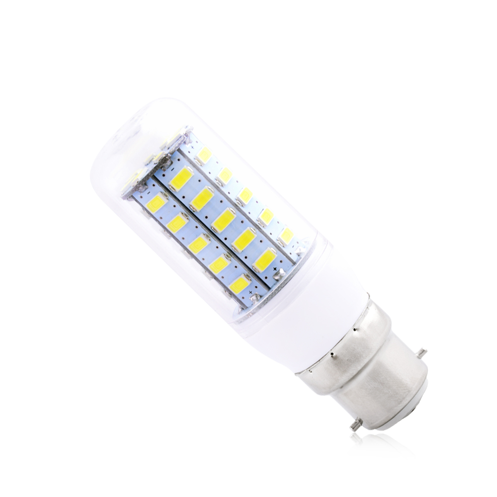 ultra bright 5730 smd led corn bulb lamp cool warm white light ac 220v b22 base ebay. Black Bedroom Furniture Sets. Home Design Ideas