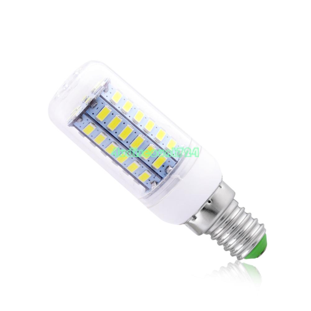 e12 e14 e27 5730 smd led corn lamp light bulb 110v 220v 7w. Black Bedroom Furniture Sets. Home Design Ideas