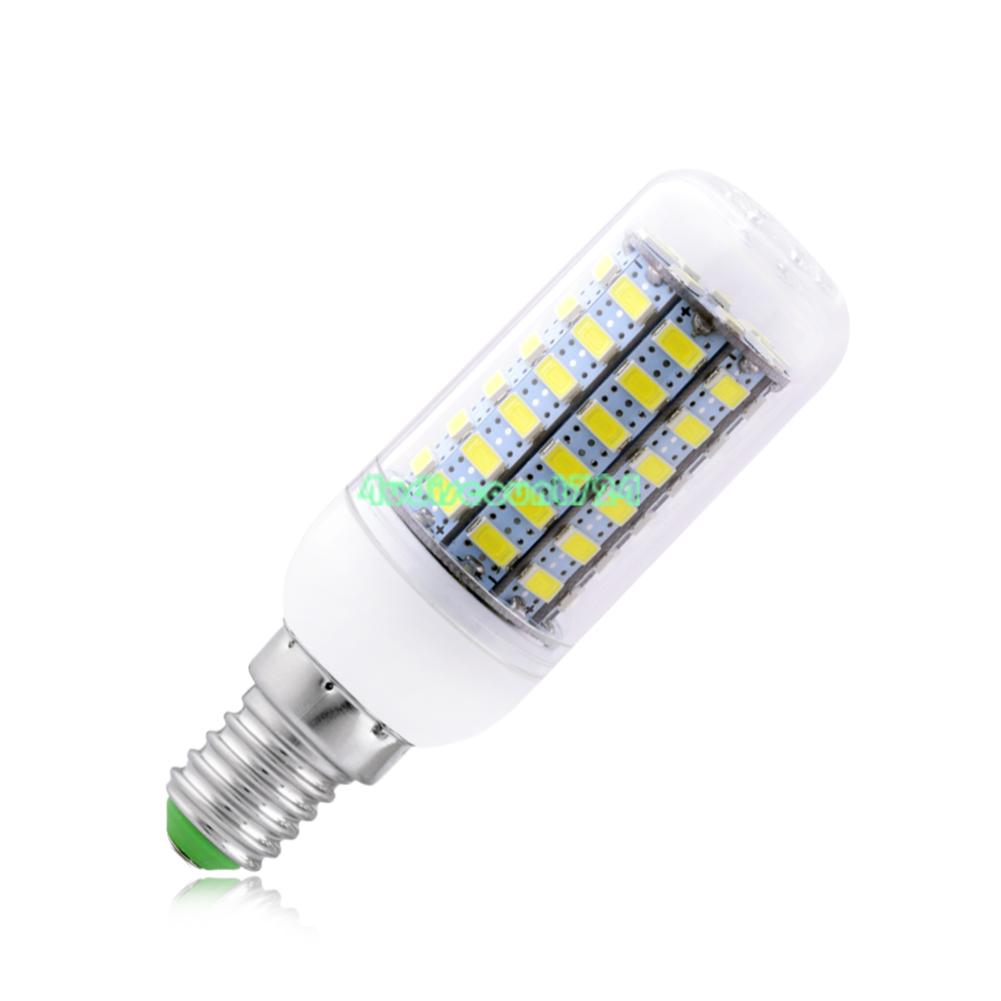 ultra bright 5730 led corn bulb cool warm white e12 e14 base lamp 7 15 20 25w 3. Black Bedroom Furniture Sets. Home Design Ideas