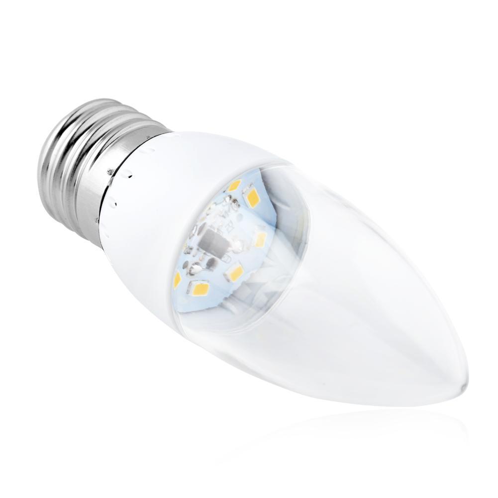 high power e27 e14 b22 b15 base 3w led candle light bulb white lamp ac 110 220v ebay. Black Bedroom Furniture Sets. Home Design Ideas