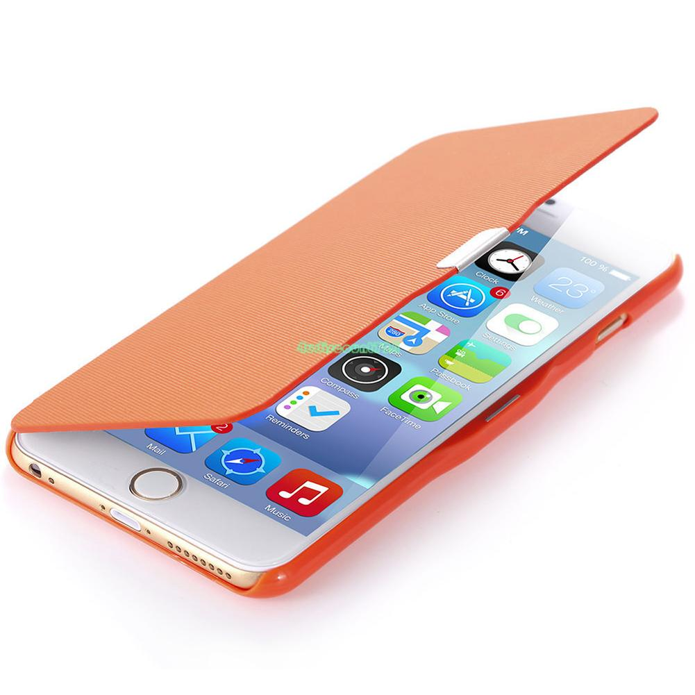 Magnetic Flip Cover Hard Leather Case For iPhone 6 6S Plus Samsung Galaxy S6 0D   eBay