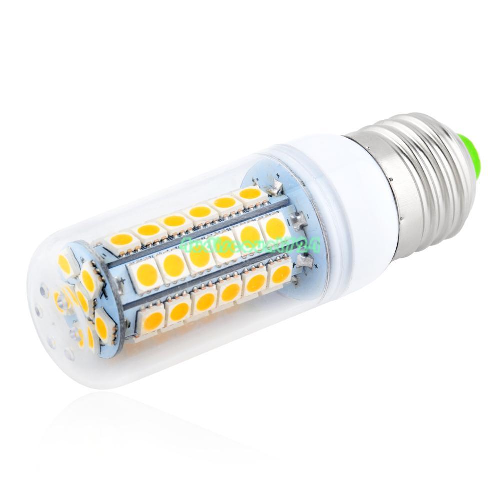 5050 smd led lampe gl hbirne birne e27 warm kaltwei 9 15w 220v 3687146 ebay. Black Bedroom Furniture Sets. Home Design Ideas