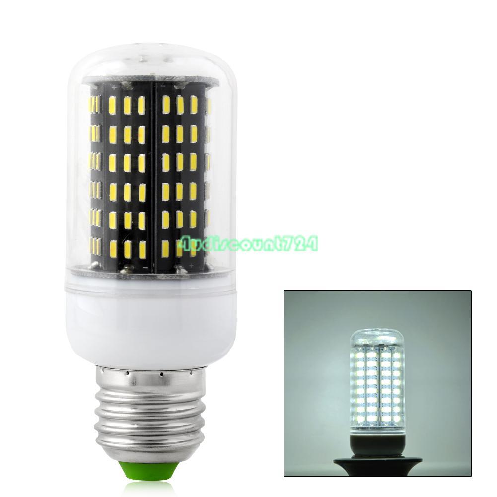 5050 SMD Energieeffiziente LED Mais Lampe Glühbirne Birne E14 Kaltweiß 9W 220V