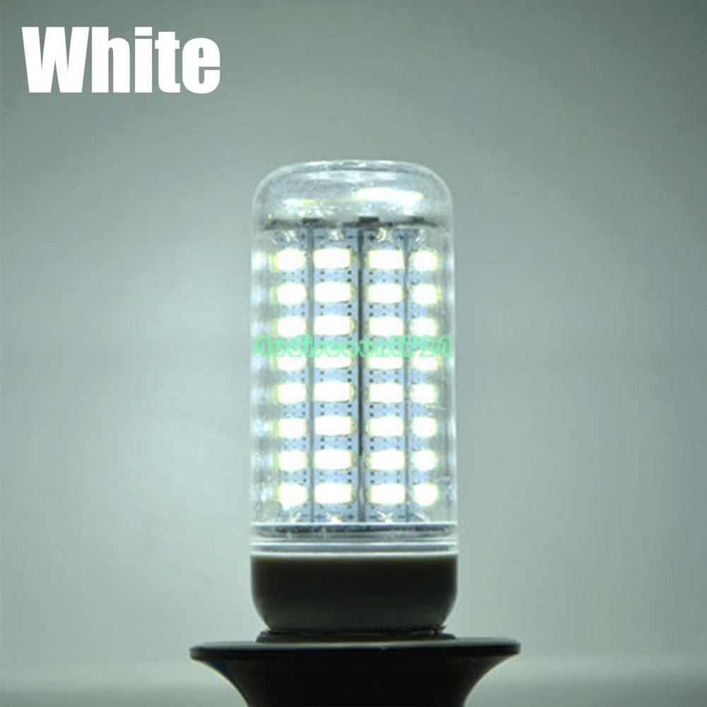 E27 36//56//72//96//138LED 220V 4014 SMD Cover Corn Cool Warm White Light Lamp Bulb