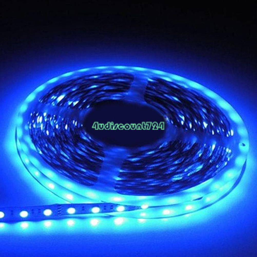 1m 5m smd 5050 3528 wasserdicht led flexibel stripe streifen licht 60 leds m 12v ebay. Black Bedroom Furniture Sets. Home Design Ideas