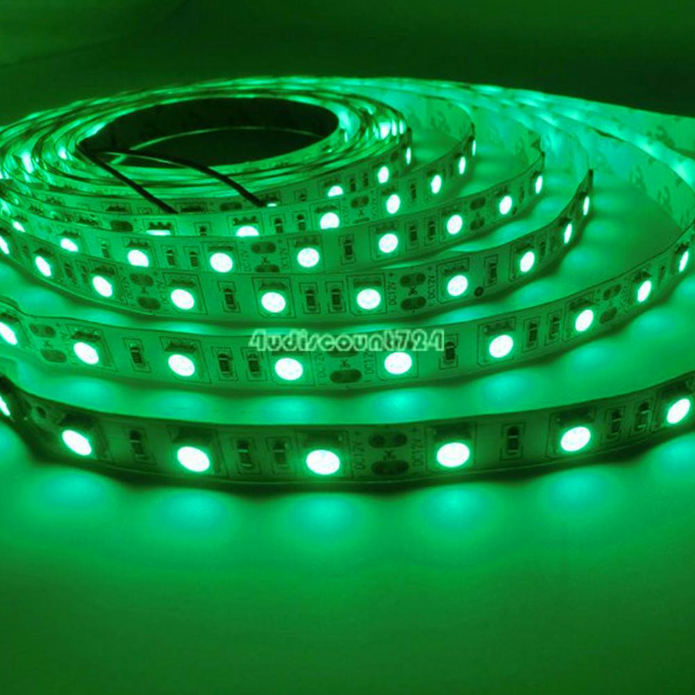 12v rgb led strip lights 5050 5630 smd power adapter beautiful nights decor ce3 ebay. Black Bedroom Furniture Sets. Home Design Ideas