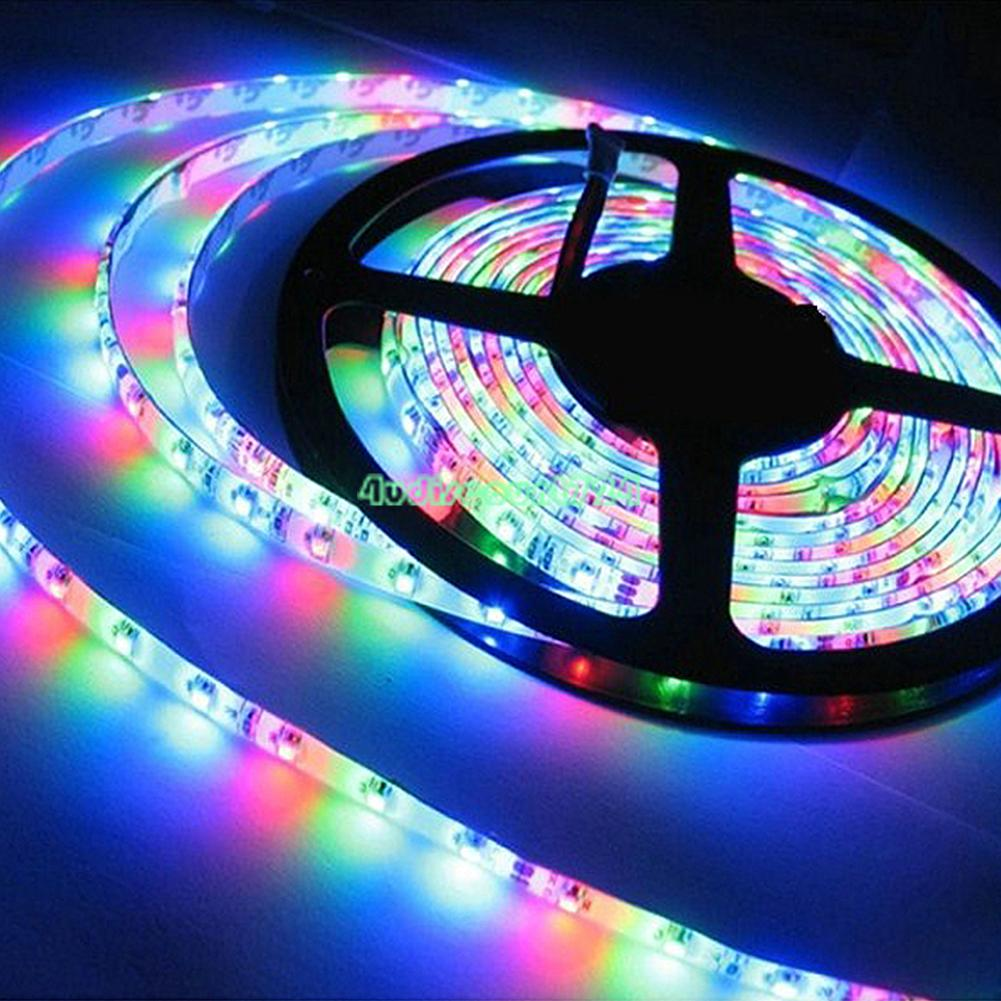 waterproof 5050 5630 led strip lights 1m 5m roll 12v rgb 24 key ir remote 6941 ebay. Black Bedroom Furniture Sets. Home Design Ideas