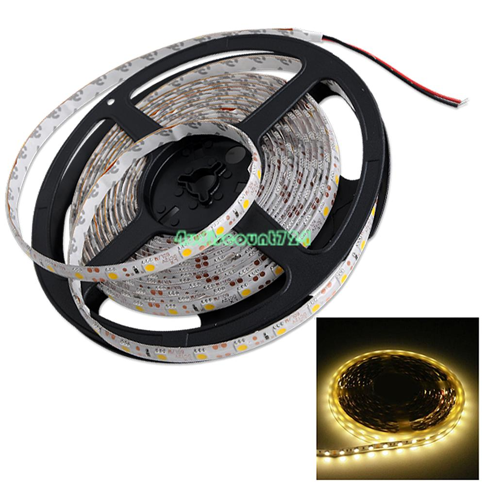 rgb led stripe 1m 5m 5050 smd streifen lichterkette licht band leiste deko 12v ebay. Black Bedroom Furniture Sets. Home Design Ideas