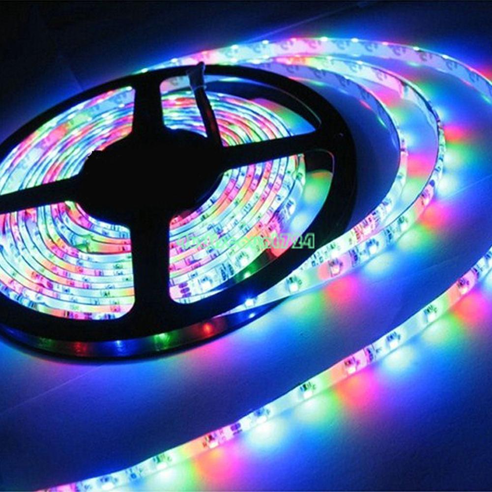 1-5m-Lumineux-3528-5050SMD-60-300-Leds-RGB-Flexible-Bande-LED-Lumiere-Home-Decor