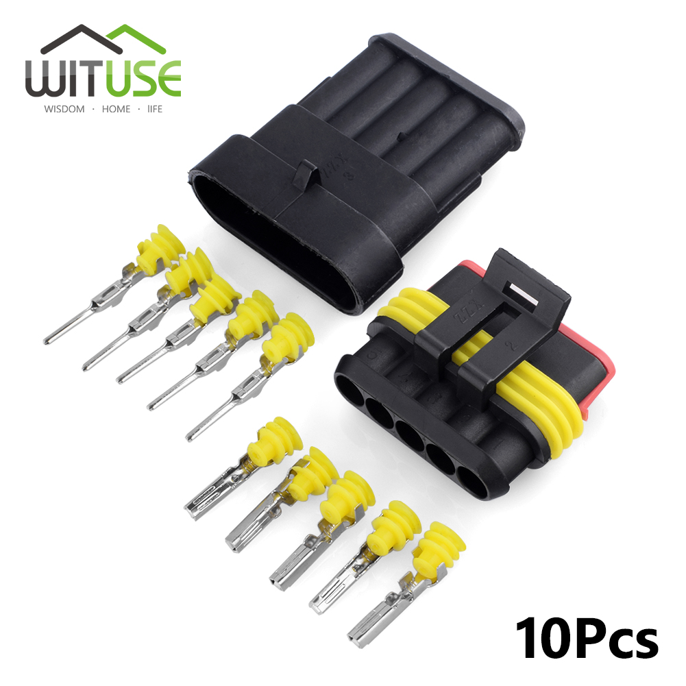Wire Auto Connector Plug3 Pin Sealed Waterproof Electrical Wire Auto