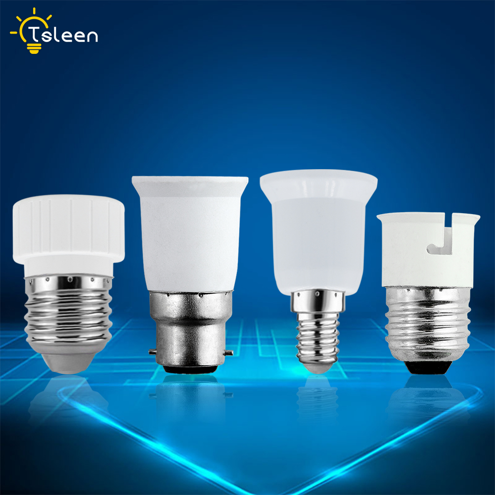 Gu10 b22 e14 e27 base holder socket adapter for led lights lamps bulbs a056 ebay Light bulb socket