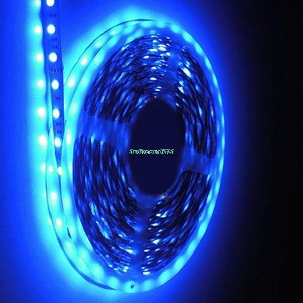 rgb rot gelb blau gr n warmwei kaltwei 5050 3528 led stripe streifen licht 12v ebay. Black Bedroom Furniture Sets. Home Design Ideas