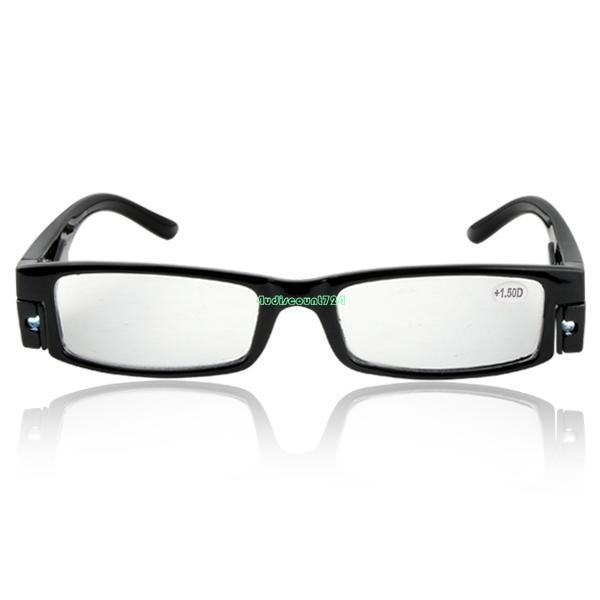 multi strength eyeglass led reading glasses spectacle