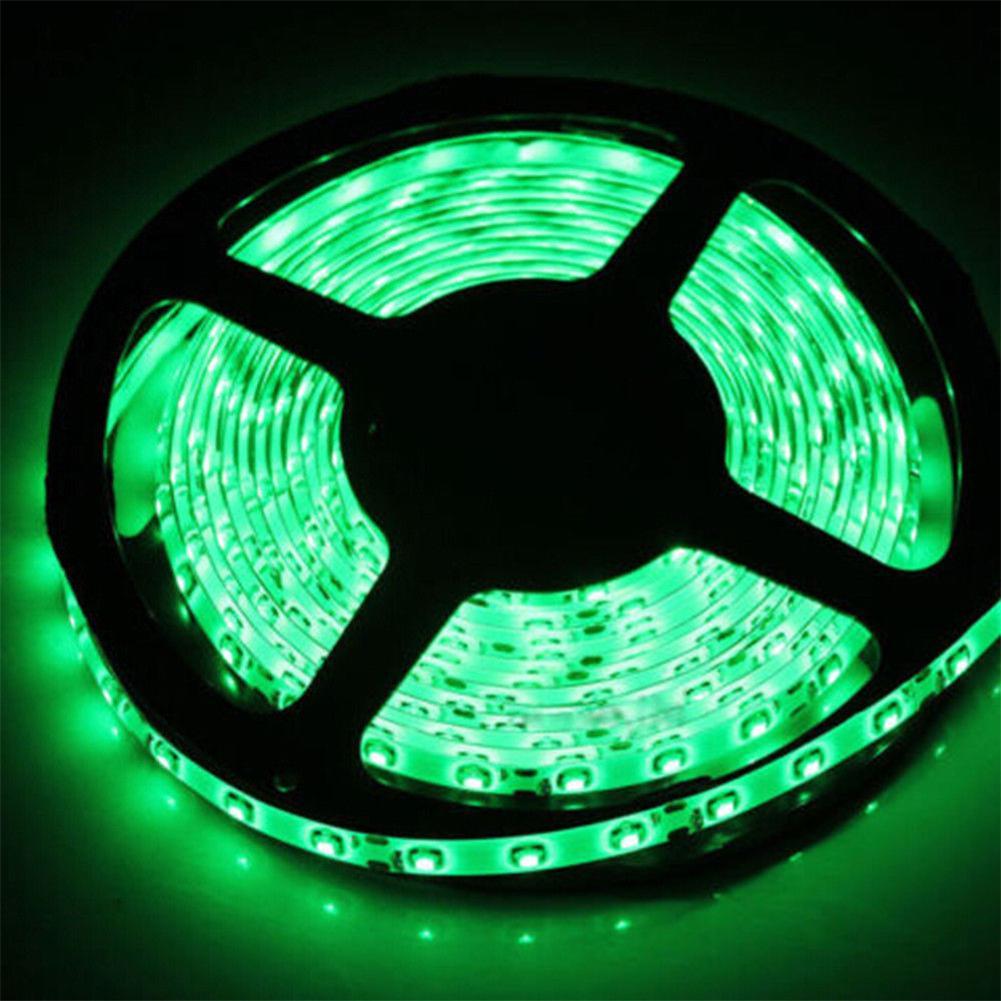 Super Bright 5v 3528 5050 Smd Led Rgb Flexible Strip Home Xmas Party Decor Light Ebay