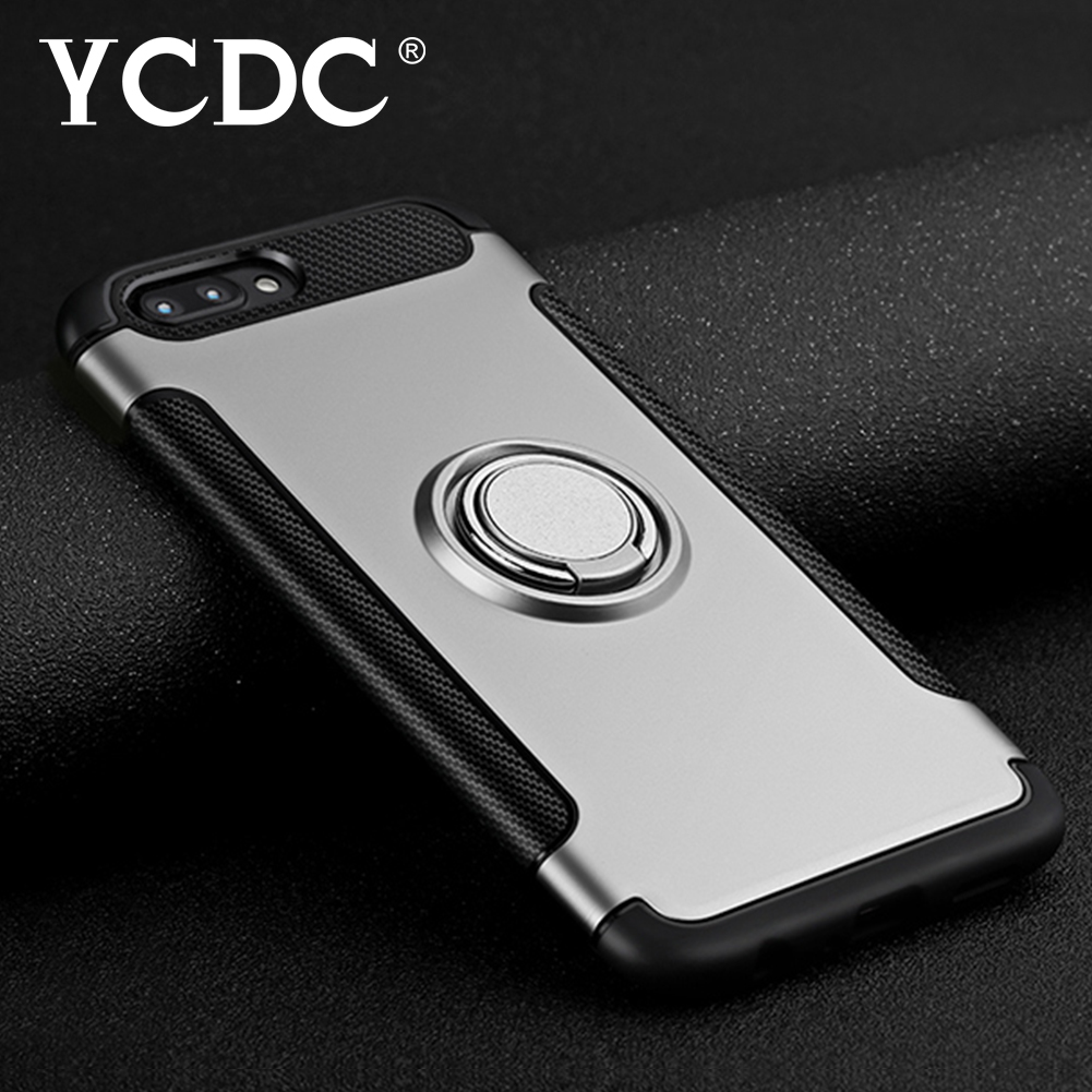 SOFT-TPU-PC-BACK-CASE-RING-KICKSTAND-COVER-ANTI-DAMAGE-FOR-IPHONE-7-7-PLUS-9F98