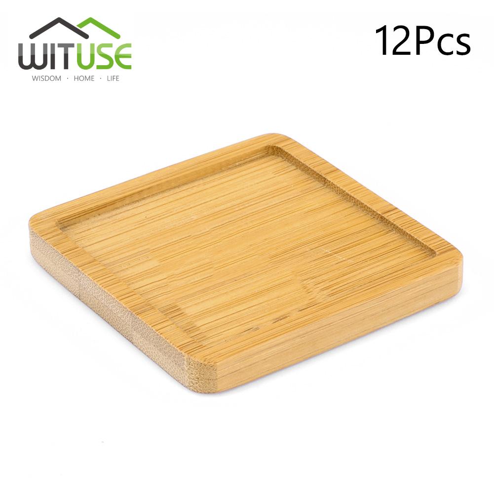 concise-style-ceramic-cactus-bonsai-planter-bamboo-tray-succulent-pot-saucer-B8
