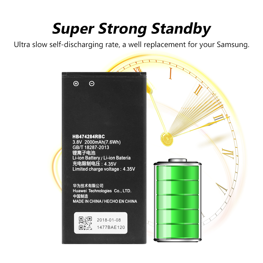 Original Battery Hb474284rbc For Huawei Y550 Y560 Y625 Y635 Y5 Hol T10  U19