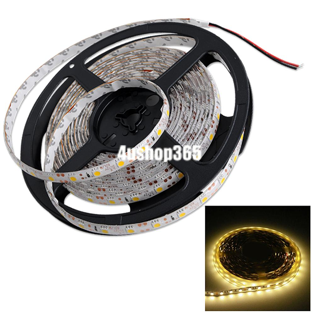 1m 3528 smd 60 led flexible light strip lamp 12v power supply xmas party decor ebay. Black Bedroom Furniture Sets. Home Design Ideas