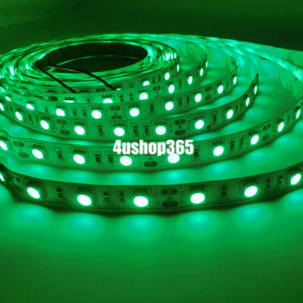 Ultra-Bright-1m-5m-5050-SMD-Party-Led-Strip-Light-RGB-Flexible-12v-2a-Power-eu