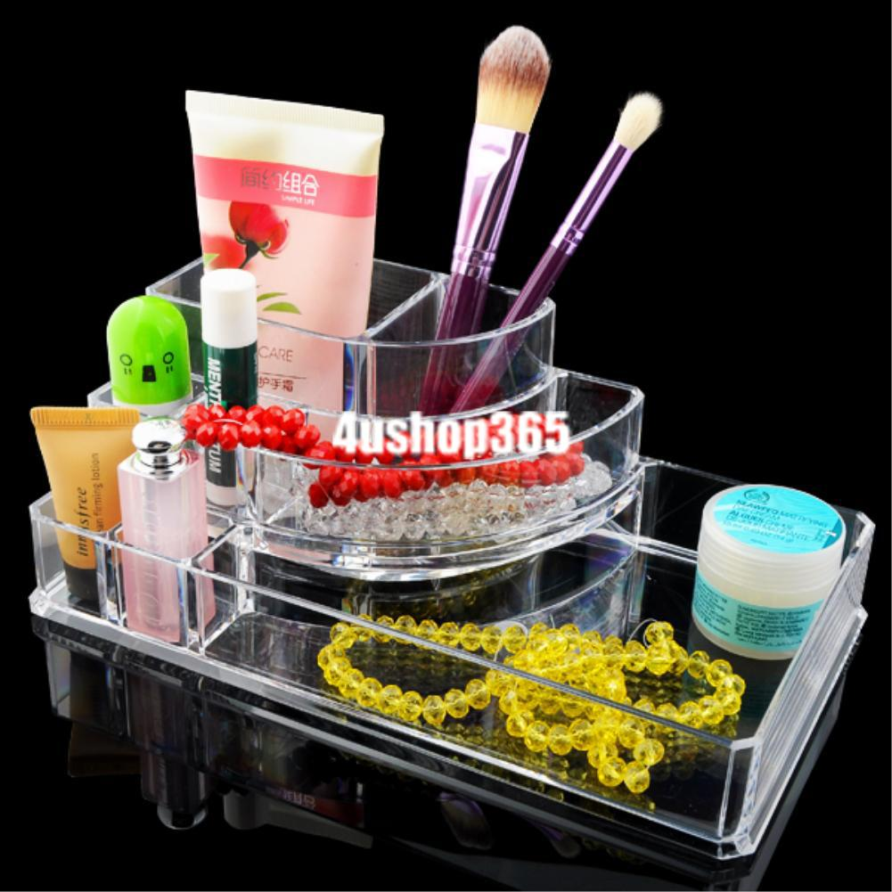 cosmetic-makeup-jewelry-lipstick-brush-ring-clear-acrylic-case-organizer-drawers