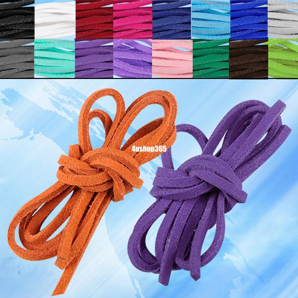 soft-leather-suede-lace-cord-rope-string-bracelet-necklace-gift-craft-diy-strap