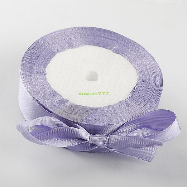 Satin Ribbon Party Christmas Crafts Wedding DIY 25 Yards 6mm 10mm 15mm 19mm 25mm