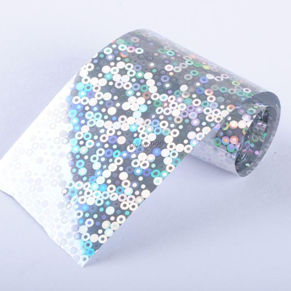 Nail Art Lady Women Transfer Foil Fashion Multi Color Tip Wrap Adhesive Sticker