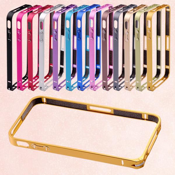 Ultra Thin Aluminum Metal Buckle Bumper Cover Case Frame For Apple iPhone 4 4S