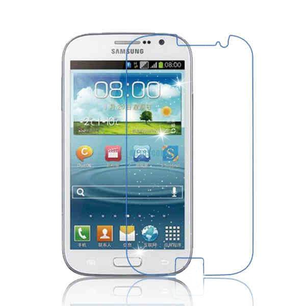 glitter clear lcd screen film cover protectors + cloth for samsung galaxy s3