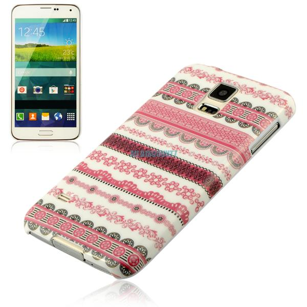 various pattern plastic hard back case cover skin for samsung galaxy s5 i9600