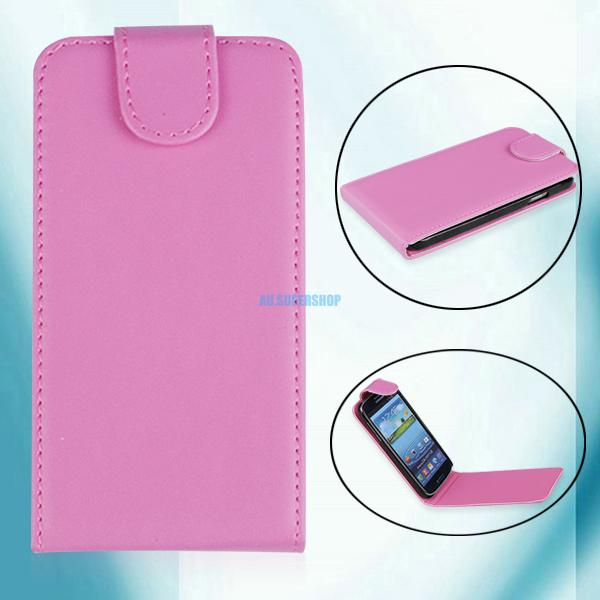 For-Samsung-Galaxy-i9500-S4-SIV-PU-Leather-Case-Magnetic-Flip-Cover-Pouch-Holder
