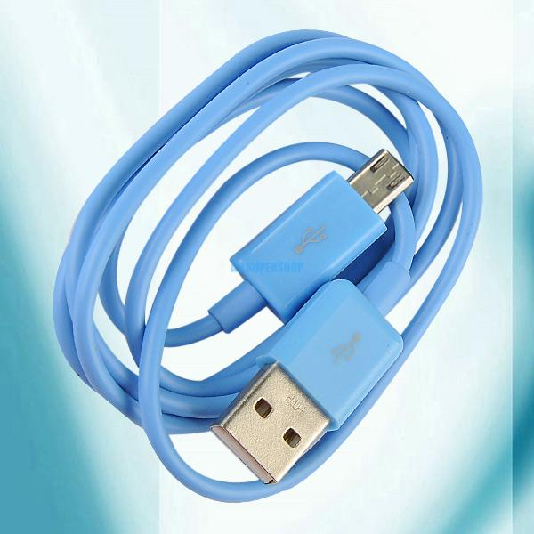 For-Phone-PDA-Tablet-Samsung-Galaxy-S4-S3-Micro-USB-To-USB-Data-Cable-Cord-Lead