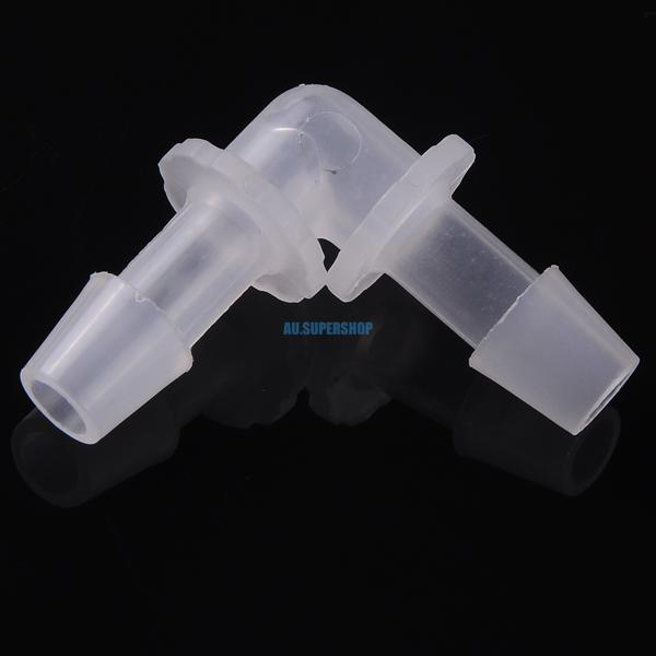 Plastic hose barbed connector elbow degree fittings air
