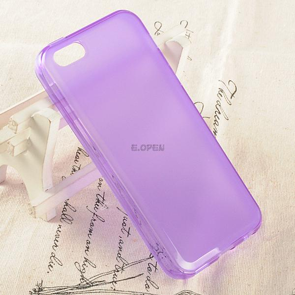 TPU Soft Gel Rubber Matte Frost Clear Back Case Cover Skin For iPhone 5C