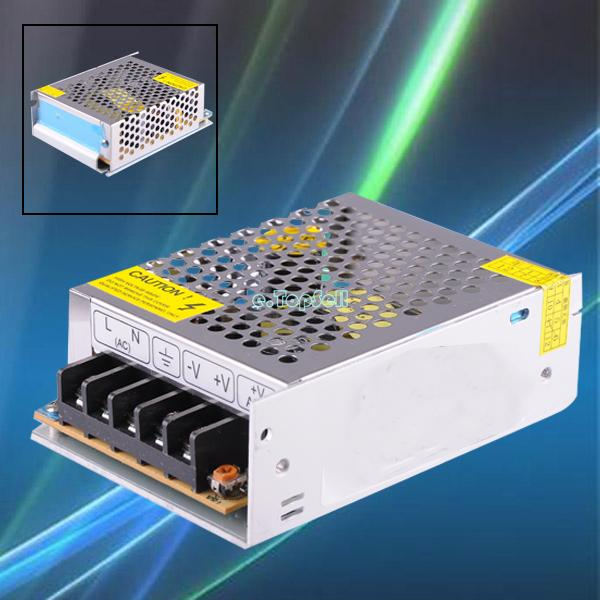 110V-240V Input 1A 5A 10A Switch Power Supply Driver For LED Strip Light Display