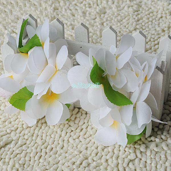 Hawaiian-Garland-Leis-Beach-Luau-Party-Costume-Flower-Lei-Fancy-Dress-Necklace