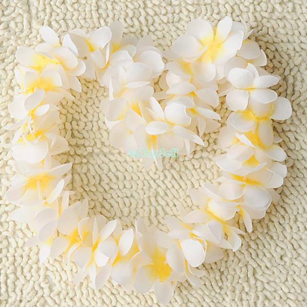 Hawaiian-Garland-Leis-Beach-Luau-Party-Costume-Flower-Lei-Fancy-Dress-Necklace