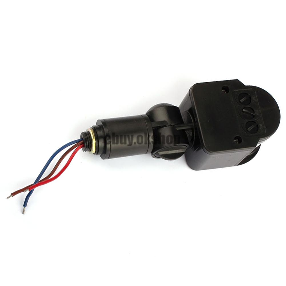 outdoor 100 240v autoinfrared pir motion sensor switch. Black Bedroom Furniture Sets. Home Design Ideas