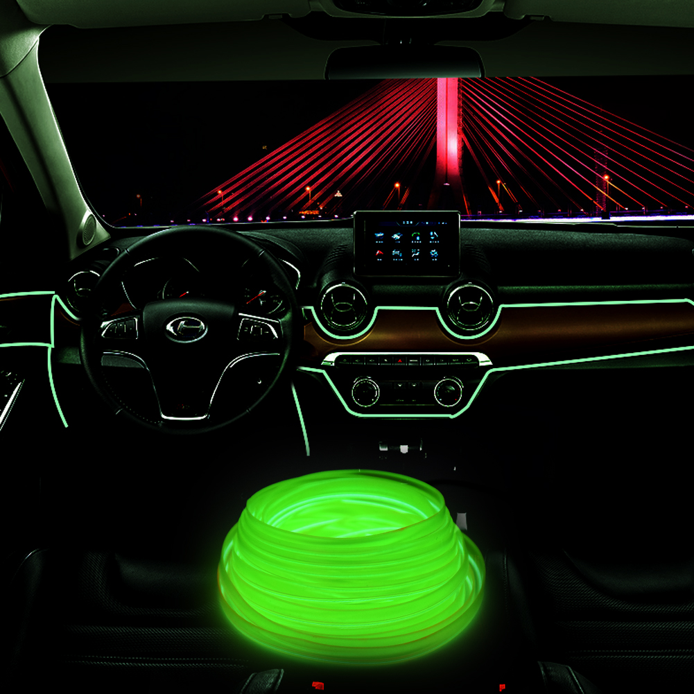 Flat-EL-Wire-Neon-Light-Strip-2m-5m-With-Inverter-For-Costume-Stage-Car-Decor-F thumbnail 11