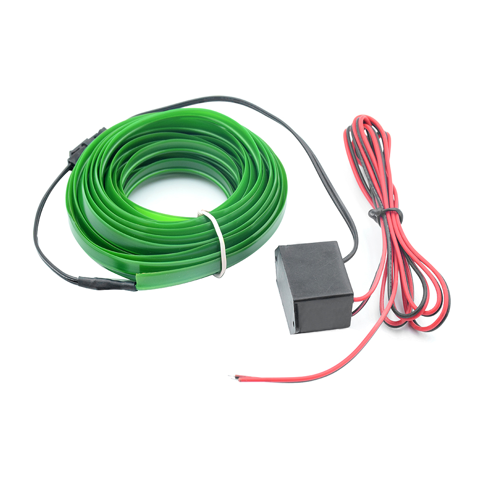 Flat-EL-Wire-Neon-Light-Strip-2m-5m-With-Inverter-For-Costume-Stage-Car-Decor-F thumbnail 7