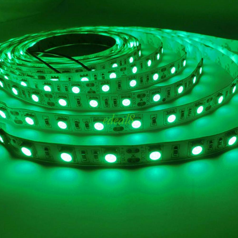 12v netzteil 3528 smd bunt lichterkette stripe band leiste licht streifen 1m 5m ebay. Black Bedroom Furniture Sets. Home Design Ideas